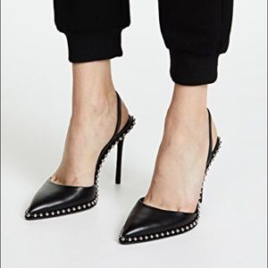 Alexander Wang Rina Leather Slingback
